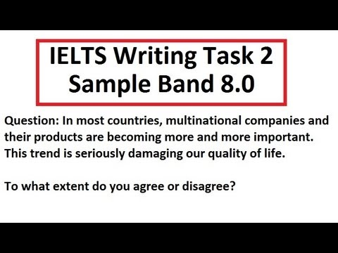 Ielts essay question