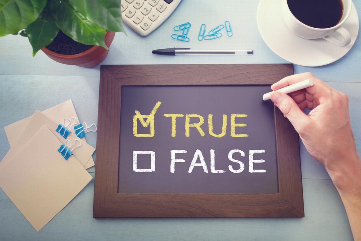 Reading - True, False, Not Given Questions