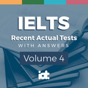IELTS Recent Actual Test With Answers (Vol 4)